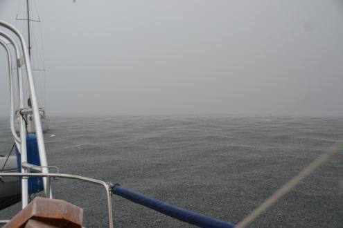 Belle journée pour travailler sur le bateau!