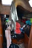 La chambre arrière tribord. C'est comme ça!