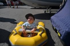Charles prêt à prendre la mer