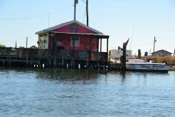 Maison de pêcher à Tangier Island