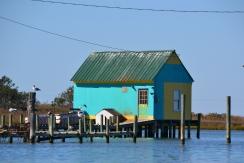 Maison de pêcheur à Tangier Island