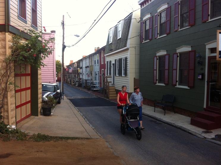 Promenade dans les rues de Annapolis